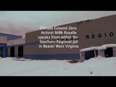 Mike Roselle Clip 1 Southern regional jail Beaver West Virginia