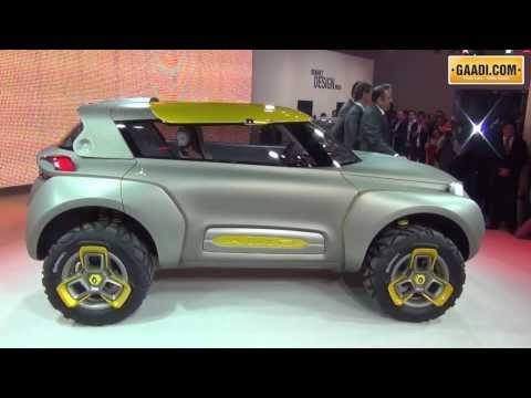 Renault KWID showcased at the 2014 Delhi Auto Expo