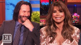 Paula Abdul On Keanu Reeves Dating Rumours