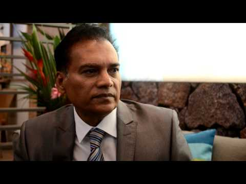 Dr. Karl Mootoosamy, director, Mauritius Tourist Promotion Authority