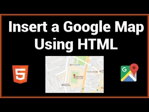 Insert a Google Map to Your Website