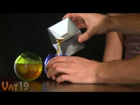 Aluminum Cube Jigger - Measure liquor with style