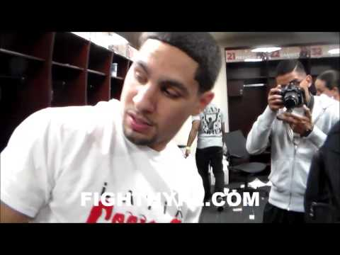 DANNY GARCIA NOT SURE IF HELL FIGHT AT 140 OR 147 BUT SAYS ITS GONNA BE ANOTHER GREAT YEAR