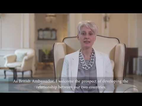 Emma Hopkins OBE – British Ambassador to Bulgaria