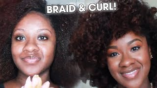Super Cute Braid & Curl Tutorial by Kimberly White