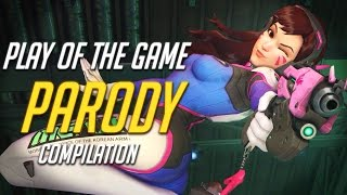 """Overwatch """"Play of the Game"""" Parody Compilation"""