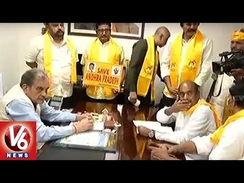Kadapa Steel Plant: TDP MP CM Ramesh Hunger Strike Reaches 10th Day | V6 News