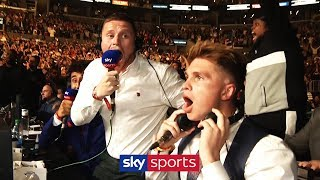 Joe Weller, Behzinga & Gib's LIVE reaction to KSI v Logan Paul result announcement!