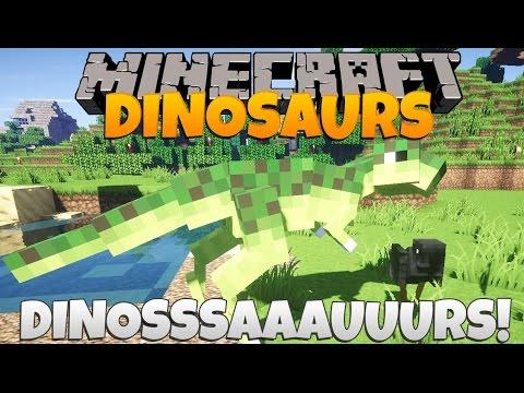 Minecraft Dinosaurs Part 58: Dinooosaaauuurs