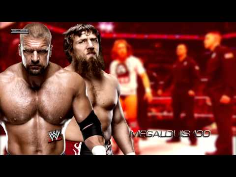 Daniel Bryan Vs. Triple H Wrestlemania 30 Promo Song - monster With Download Link video
