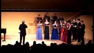 Vaclovas Augustinas: Cantate Domino - Catalan National Youth Choir; Vytautas Miškinis