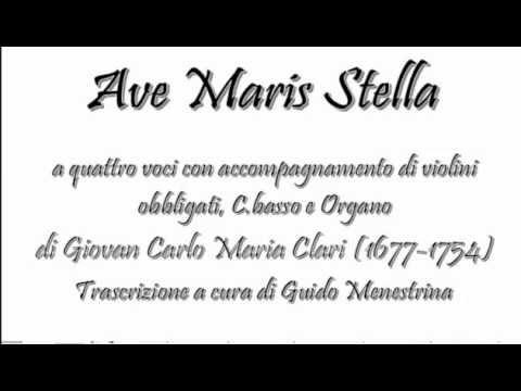 Giovanni Carlo Maria Clari - Ave maris stella