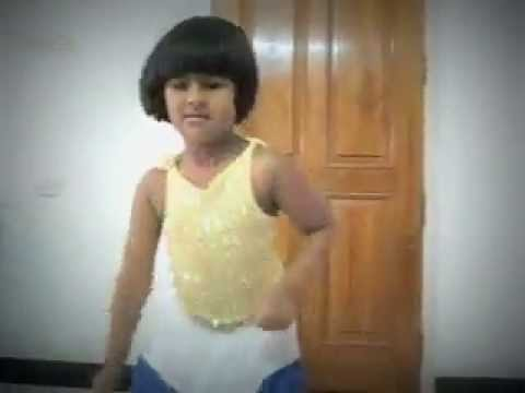Cute Little Indian Girl Child Dancing video