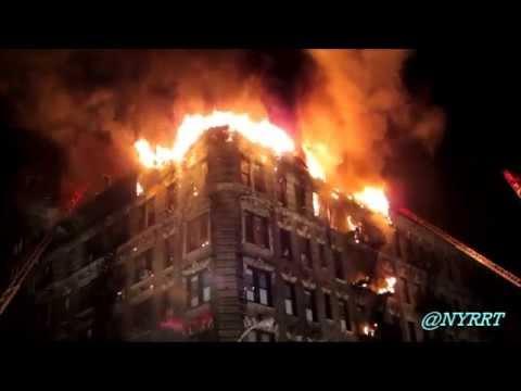 FDNY: 3/27/15 Manhattan: 3 Alarm Fire 343 East 66 St. / 1st Ave.
