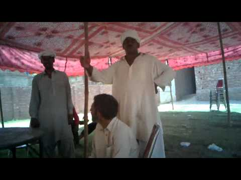 Marasi on fire in Sambrial gulshan ghani town