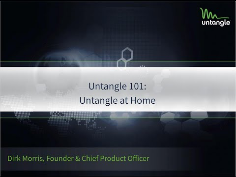 Untangle 101: Untangle at Home