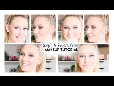 Simple Makeup For Prom Simple Elegant Prom Makeup