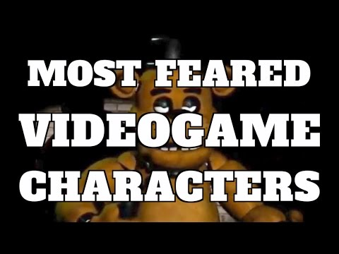Top 10 Most Feared Video Game Characters (Quickie)