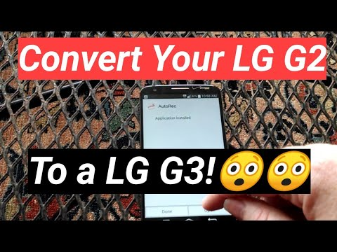 Convert your G2 to a G3 right from the phone