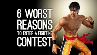 6 Worst Reasons for Entering a Fighting Tournament