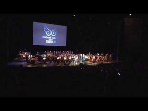 Nobuo Uematsu And Arnie Roth Playing Victory Fanfare Together video