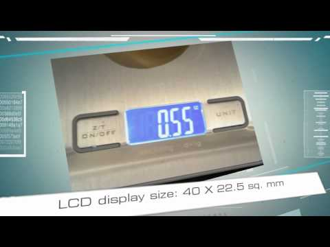 Digital Kitchen Scale - Pronto Precision Plus by Digital Scale City