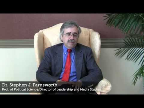 UMW&#039;s Stephen Farnsworth: Current Research