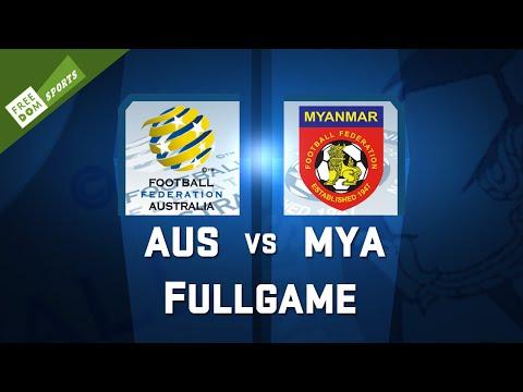 【LIVE】3/31 AFC U-23 AUS v.s MYA /Freedom Sports