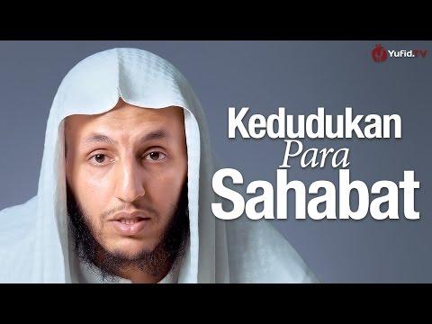 Ceramah Singkat: Kedudukan Para Sahabat - Syaikh Marzuk bin Khalid Al-Azmi.