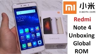 Unboxing Review: Xiaomi Redmi Note 4 Global 3GB / 64GB Helio X20 MIUI8 Android 6 Fingerprint 4100mAh
