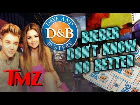 Justin Bieber Scores A Police Investigation At Dave And Buster's. video