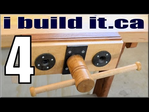 Making A Woodworking Vise, Part 4 Of 11