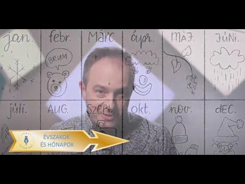 GYEREKVERS-PERCEK Lutter Imrével - Évszakok és hónapok