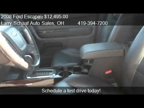 2008 Ford Escape Limited 2WD - for sale in SAINT MARYS, OH 4