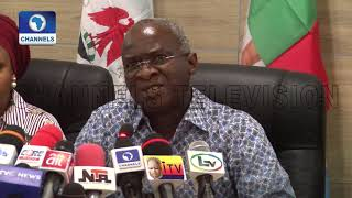 Elections Shift: Do Not Let Shortcomings Of INEC Deter You, Fashola Urges Nigerians
