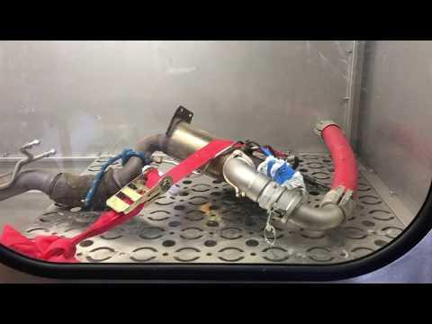 Russpartikelfilter Katalysator DPF Reinigung fuer PKW und LKW Dieselpartikelfilter