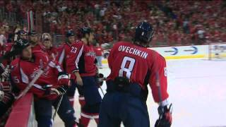 Alex Ovechkin Playoff Hat Trick vs Penguins - HD