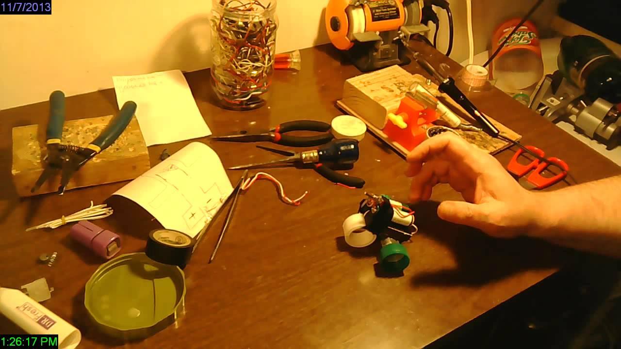 Как создать робота в домашних условиях своими руками 51