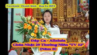 """Đáp Ca - Chúa Nhật 29 Thường Niên - Thái Nguyên """"TV 32"""" (Năm B)"""