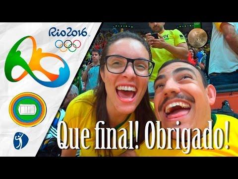 Olimpíadas Rio 2016 - Final de ouro!