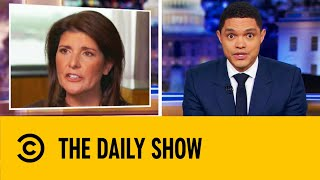 Nikki Haley Drops Bombshells In Her New Tell-All Book | The Daily Show With Trevor Noah