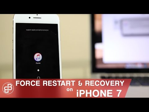 iPhone 7: How to Fix Black Screen   Force Restart. Recovery Mode & DFU Mode!