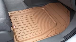 Motor Trend Performance Plus Rubber Car Floor Mats