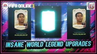 ~155 Billion?!?!~ The Most Insane World Legend Upgrading - FIFA ONLINE 3
