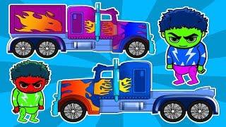 बच्चों कारों कार्टून राक्षस ट्रक बच्चों के लिए एनीमेशन एनीमेशन