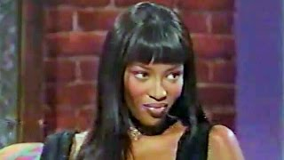 Naomi Campbell - On The Sinbad Show
