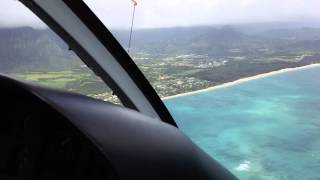 HELICOPTER RIDE in OAHU, HAWAII 45 minutes - start to finish