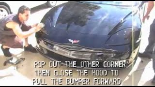 How to Remove Chevy C6 Corvette Bumper and Headlights