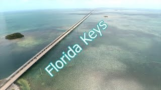 Florida Keys: Overseas Hywy & 7 Mile Bridge Aerial
