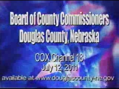 Board of County Commissioners, Douglas County Nebraska, July 12, 2011 Meeting